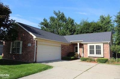 Macomb Twp Single Family Home For Sale: 51629 Hickory