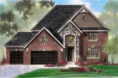 Harrison Twp Single Family Home For Sale: 39990 W Offshore Dr #Lot 113
