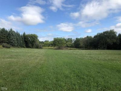 Bruce Twp Residential Lots & Land For Sale: 4577 33 Mile