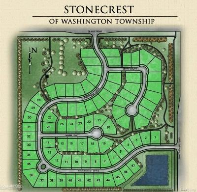 Washington Twp Residential Lots & Land For Sale: 60488 Stonecrest Dr