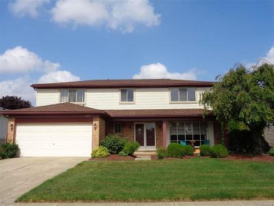 Sterling Heights Single Family Home For Sale: 14627 Lakeshore