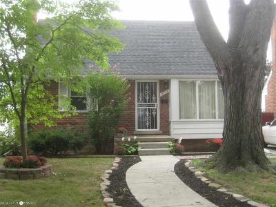 Allen Park Single Family Home For Sale: 9711 Hubert Ave