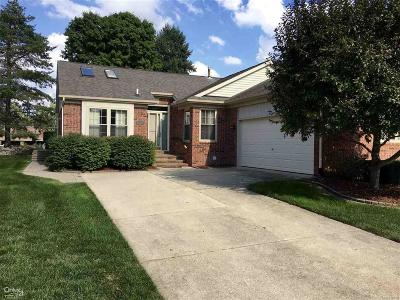 Macomb Twp Single Family Home For Sale: 18068 Cottonwood Dr #29