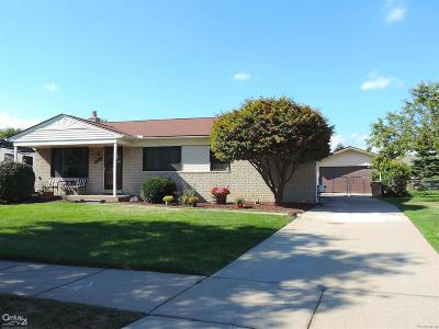 Sterling Heights Single Family Home For Sale: 4823 Dreon