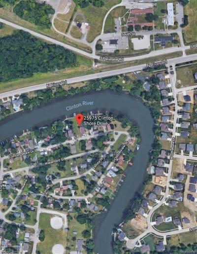 Harrison Twp Residential Lots & Land For Sale: 25975 Clinton Shore