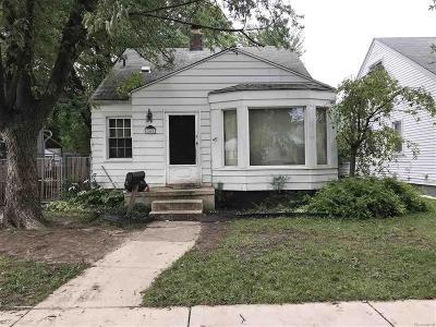 Detroit Single Family Home For Sale: 7441 Vaughan - 42 Unit Bulk Sale