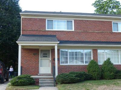 Royal Oak Single Family Home For Sale: 2703 Glenview Ave