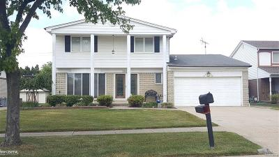 Sterling Heights Single Family Home For Sale: 35231 Davison St