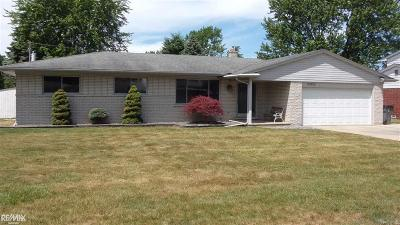 Clinton Twp Single Family Home For Sale: 37519 Via Rosalie