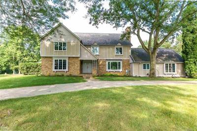 Armada Twp Single Family Home For Sale: 22555 W Main