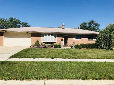 Clinton Twp Single Family Home For Sale: 23347 Demley Dr
