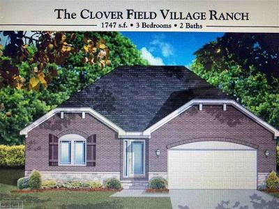 Macomb County, Oakland County Single Family Home For Sale: 71532 Julius Drive #Lot 10