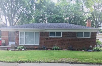 Rochester Single Family Home For Sale: 1380 Sycamore