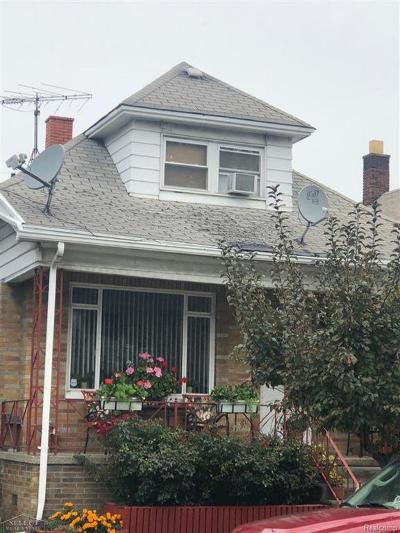 Hamtramck Single Family Home For Sale: 3009 Lehman