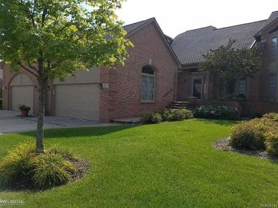 Shelby Twp Condo/Townhouse For Sale: 54701 Ashford Ct #Unit #23
