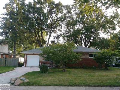 Warren Single Family Home For Sale: 3998 Capitol