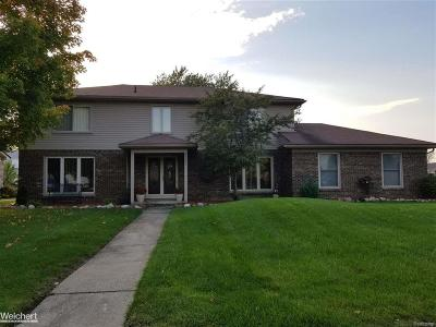 Clinton Twp Single Family Home For Sale: 35591 Morris Dr.