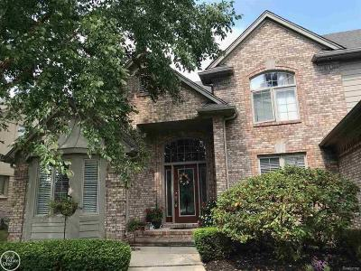 MACOMB Single Family Home For Sale: 16753 Country Club
