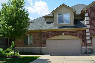 Shelby Twp Condo/Townhouse For Sale: 53155 Celtic Dr