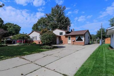 STERLING HEIGHTS Single Family Home For Sale: 12357 Malburg Dr