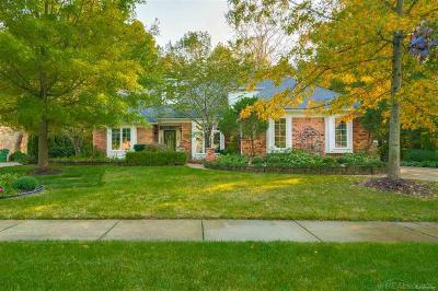 Shelby Twp MI Single Family Home For Sale: $439,900