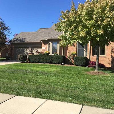 Shelby Twp MI Condo/Townhouse For Sale: $295,900