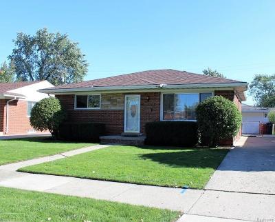 St Clair Shores, Roseville, Clinton Twp, Fraser Single Family Home For Sale: 25158 Koontz