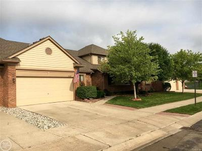 Macomb Twp Condo/Townhouse For Sale: 16647 Country Ridge Court