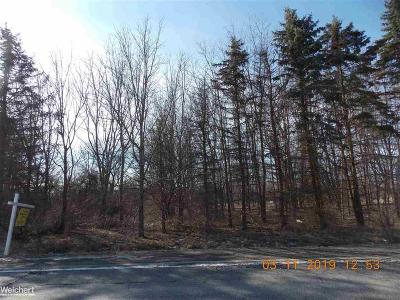 Chesterfield Twp Residential Lots & Land For Sale: 26 Mile Road