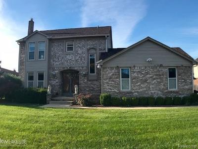 Sterling Heights, Shelby Twp, Utica Single Family Home For Sale: 40745 Matlock