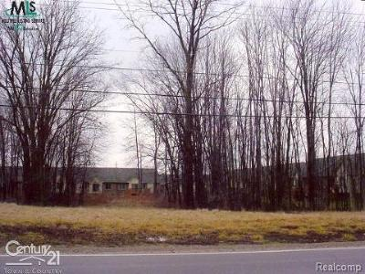 Chesterfield Twp Residential Lots & Land For Sale: 28091 Cotton