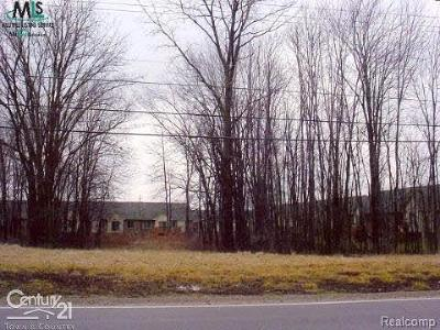 Chesterfield Twp Residential Lots & Land For Sale: Cotton