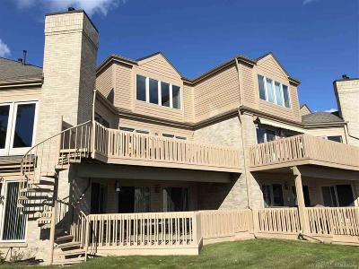 Harrison Twp MI Condo/Townhouse For Sale: $484,900