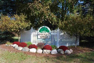 Washington Twp Residential Lots & Land For Sale: 11871 Liberty Woods