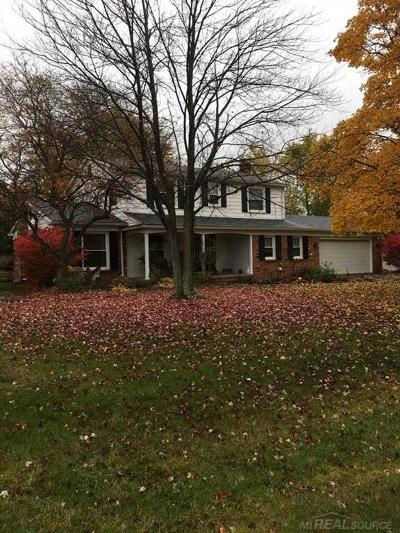 Farmington, Farmington Hills Single Family Home For Sale: 28846 Raleigh