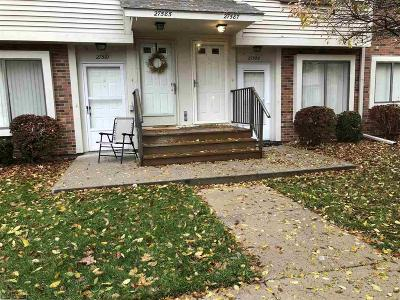 Harrison Twp MI Condo/Townhouse For Sale: $79,900