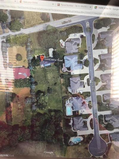 Clinton Twp Residential Lots & Land For Sale: 16490 Millar