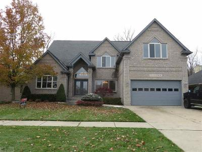 Macomb Twp Single Family Home For Sale: 51831 Woodside Dr