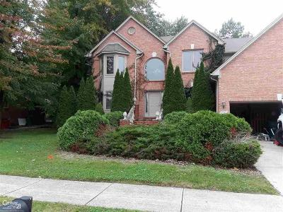 Macomb Twp Single Family Home For Sale: 47885 Lavender