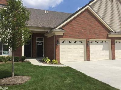 Sterling Heights Condo/Townhouse For Sale: 14342 Shadywood Dr.