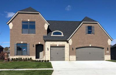 Macomb Twp Single Family Home For Sale: 21911 Majestic Dr