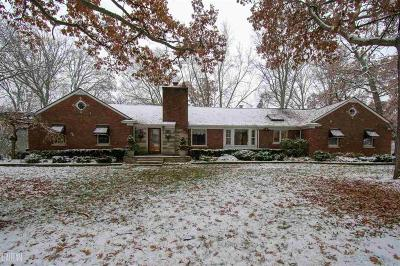 Shelby Twp Single Family Home For Sale: 5500 24 Mile