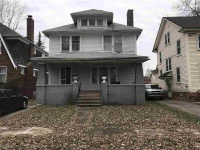 Detroit Single Family Home For Sale: 3309 Doris - 10 Unit Bulk Sale