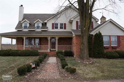 Macomb County Single Family Home For Sale: 27620 30 Mile
