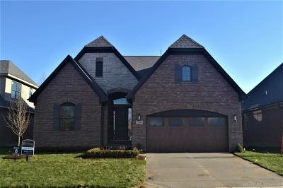 Shelby Twp Single Family Home For Sale: 53108 Enclave Circle