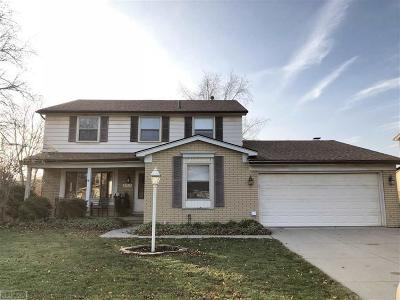 Clinton Twp Single Family Home For Sale: 39237 Sunderland Dr