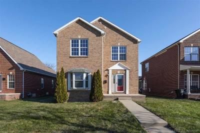 Detroit Single Family Home For Sale: 2980 Marlborough