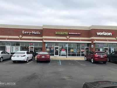Macomb Twp Commercial For Sale: 20755 Hall Rd