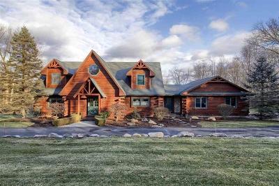 Oakland Twp Single Family Home For Sale: 1000 E Romeo