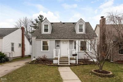 Dearborn Single Family Home For Sale: 3338 Harding St.